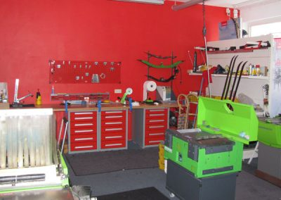Ski Werkstatt von Ski Bike Marr