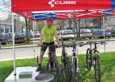 Steffen Marr testet CUBE Fahrrad