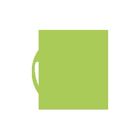 Symbol Kinderfahrrad lachendes Gesicht