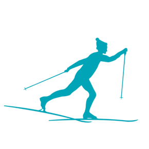 Symbol Langlaufski