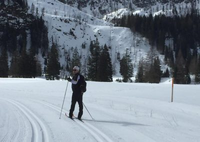 Steffen Marr testet Fischer Langlaufski